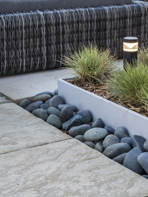stone tiles paved by Ipswich Landscaping
